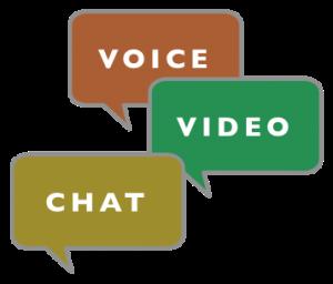 web-chat-video-audio